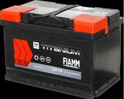 Akumulator FIAMM Titanium PRO L374P 74Ah 680A