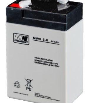 MW Power MWS 5-6 6V 5Ah