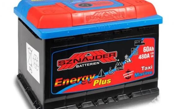 Akumulator SZNAJDER ENERGY PLUS 12V 60Ah 480A
