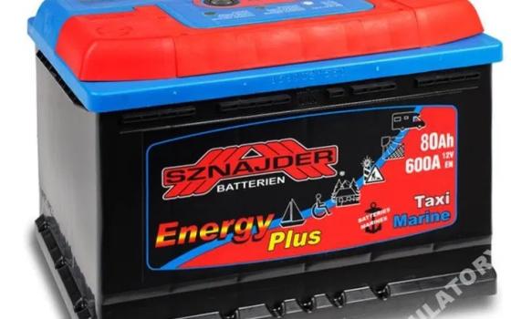Akumulator SZNAJDER ENERGY PLUS 12V 80Ah 600A