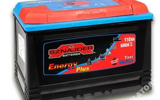 Akumulator SZNAJDER ENERGY PLUS 12V 110Ah 680A