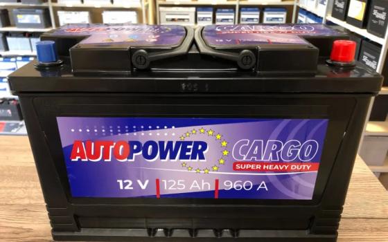 Akumulator AUTOPOWER 12V 125Ah 960A